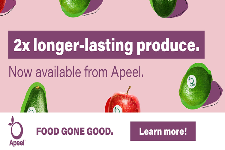 Apeel 2x's Longer-Lasting Produce