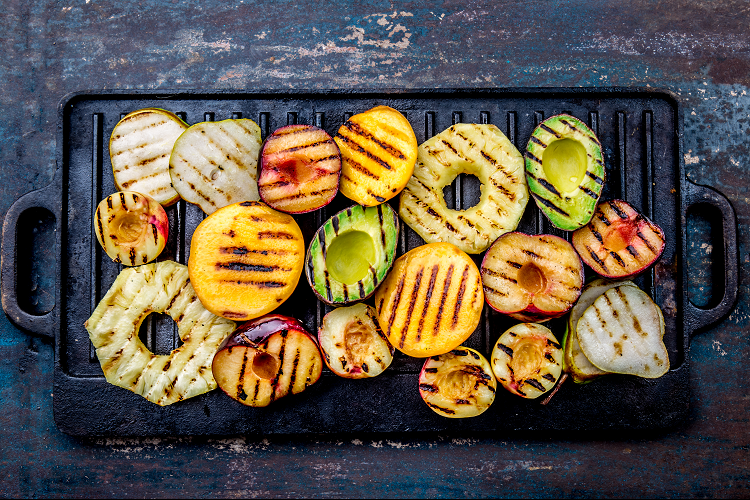 Introducing Customers to Grilling Fruit