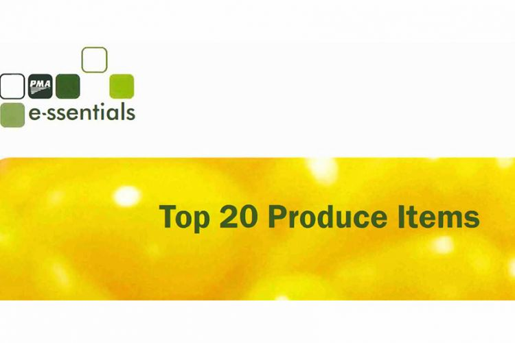 PMA Essentials #5: Top 20 Produce Items