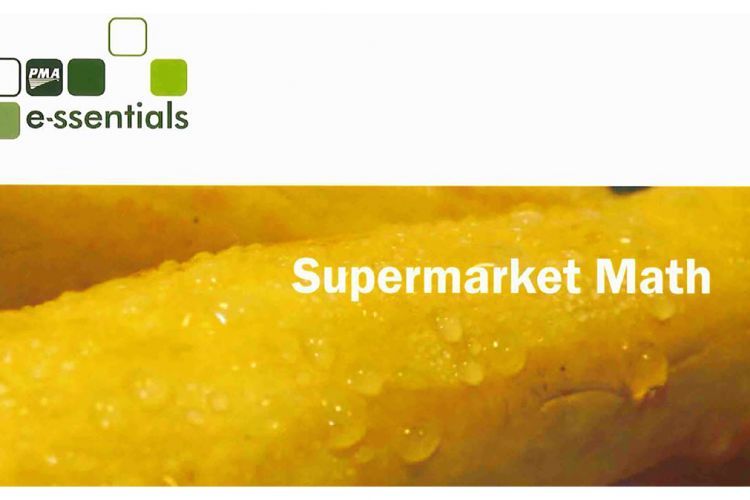 PMA Essentials #7:  Supermarket Math
