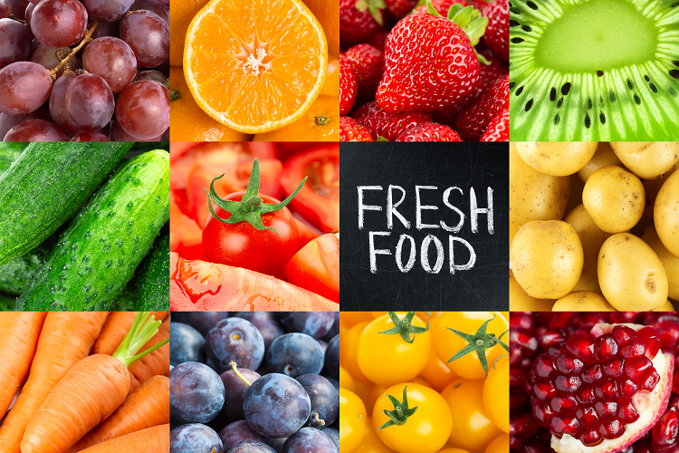 Top 20 Fruits & Vegetables