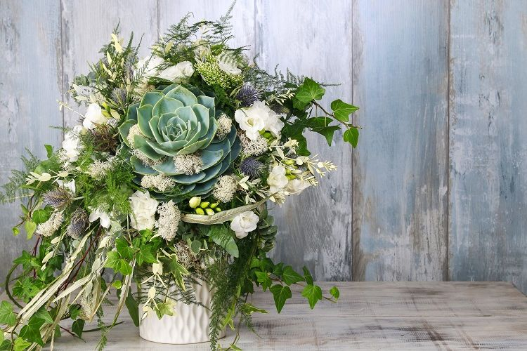 Green foliage adds a beautiful touch of natural beauty to floral designs