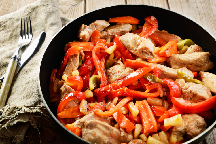 Creamy Cajun Chicken With Prime Time Peppers