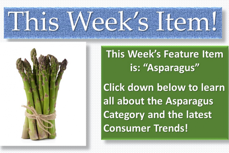 Featured Item of The Week Asparagus