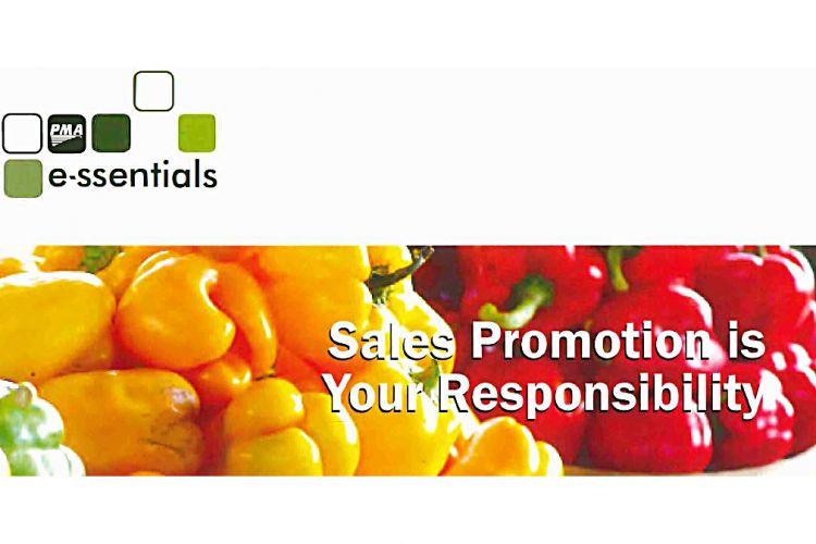 PMA Essentials #3: Sales Promotion is Your Responsibility