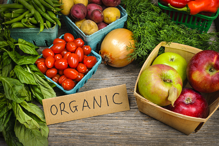 Organic fruits and vegetables expand the marketplace