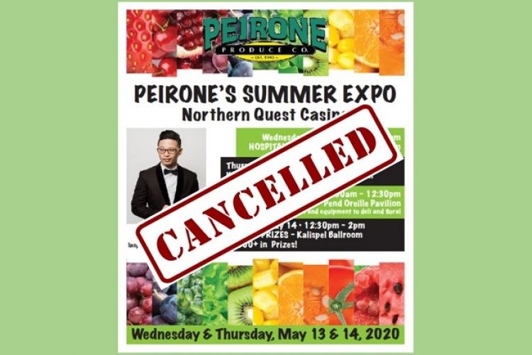 Peirone Produce to Cancel Summer Expo