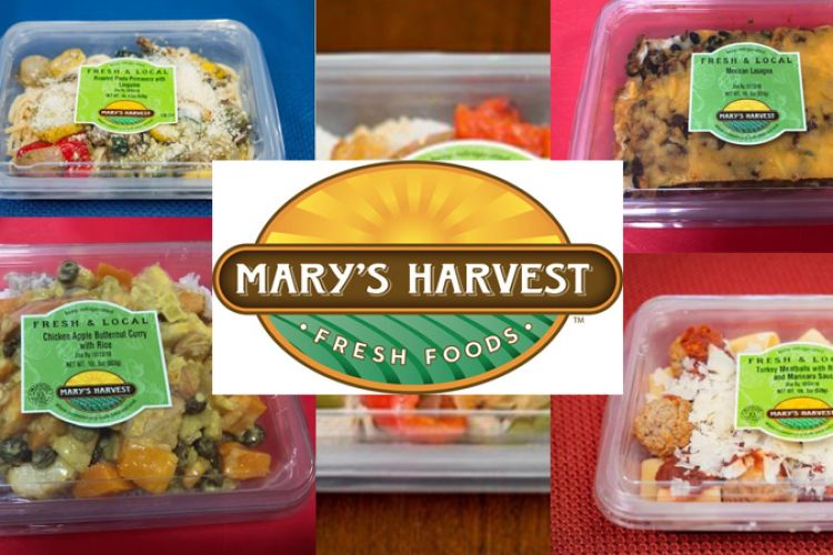 Mary's Harvest Grab-N-Go Meals