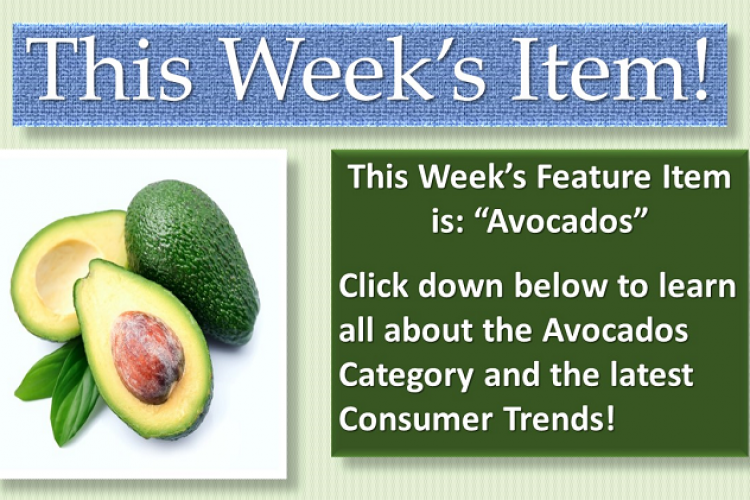 Featured Item of The Week Avocados
