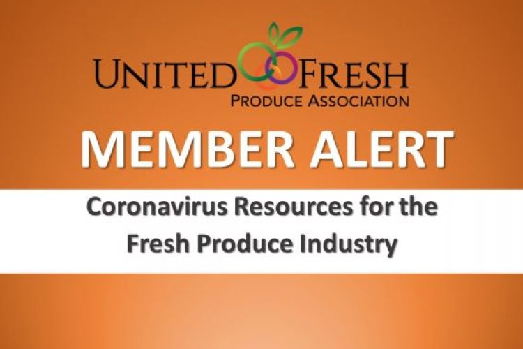 Fresh Produce Industry Resources Coronavirus