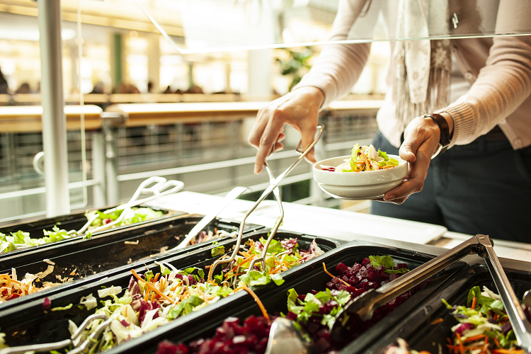 Reinventing the salad bar with a robot