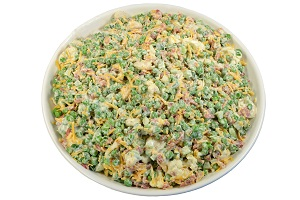 #3:  Mary's Harvest Bacon Pea Salad, 7.25 lb, Item# 03846